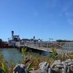 Fahrt auf dem Rhônedampfer